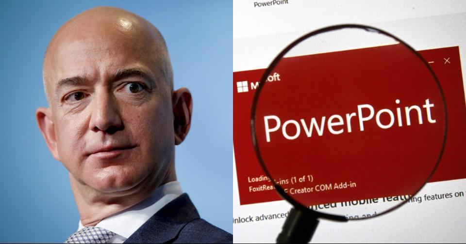 Actualidad: Los trabajadores de Amazon no podrán utilizar Power Point