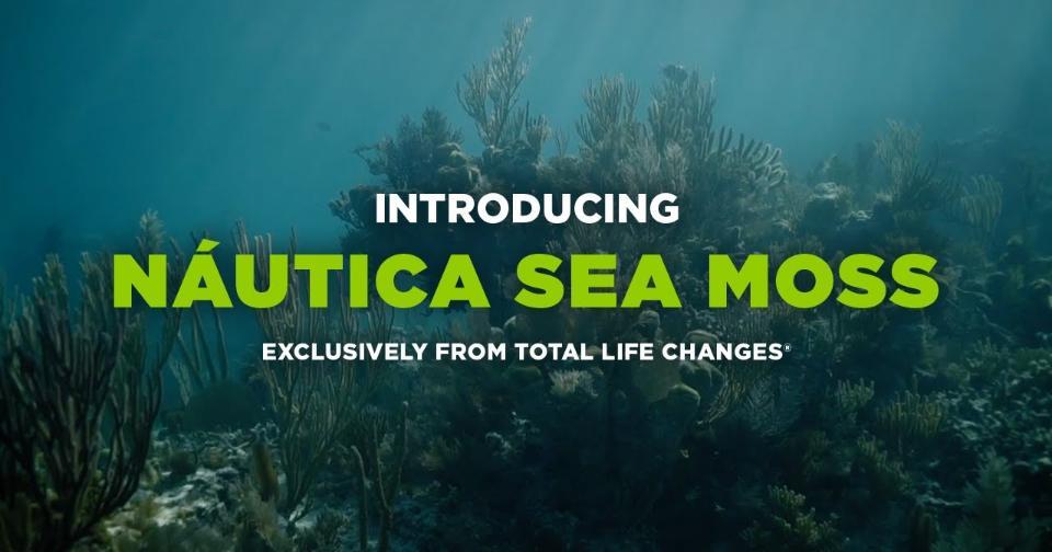 Empresas: Total Life Changes presenta el nuevo suplemento Nautica Irish Sea Moss