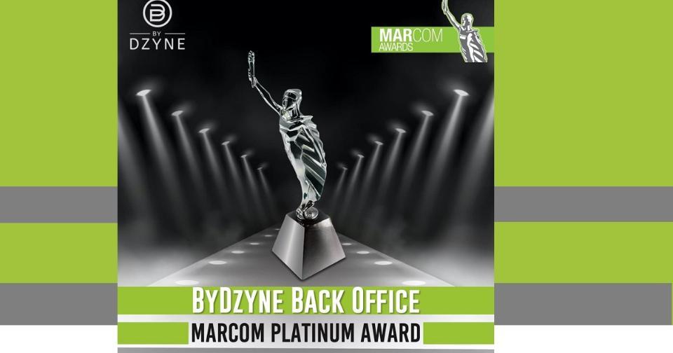Actualidad: ByDzyne se lleva el premio MarCom Platinum