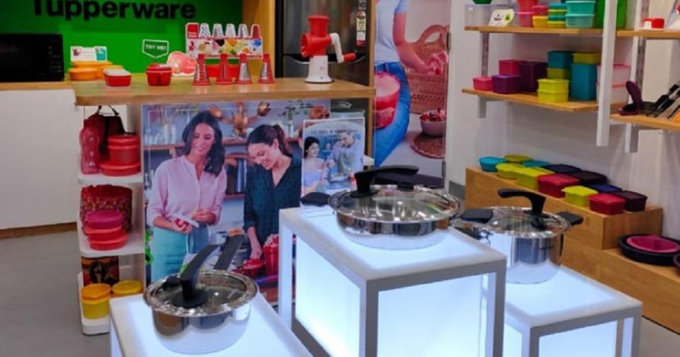 Empresas: Tupperware India abre su tienda exclusiva en Tamil Nadu