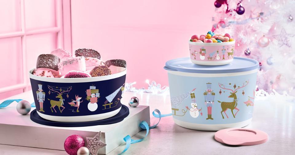 Empresas: Tupperware lanza nueva colección navideña inspirada en El Cascanueces