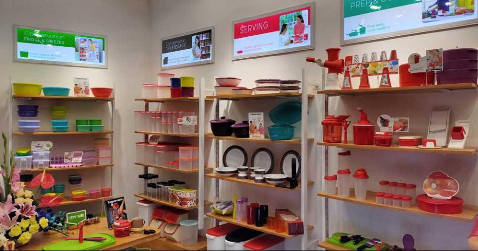 Empresas: Tupperware marca otro lanzamiento de tienda de la lista de expansión agresiva