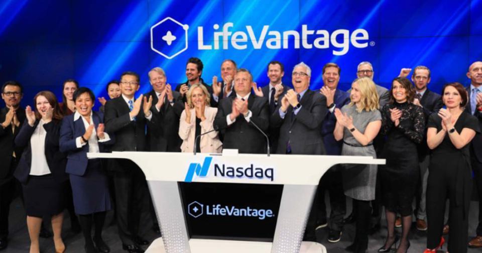 Empresas: LifeVantage es elegida para la ceremonia de cierre del Mercado de Valores Nasdaq