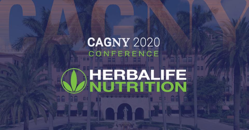 Empresas: Ejecutivos de Herbalife se presentarán en la Conferencia de inversores CAGNY 2020