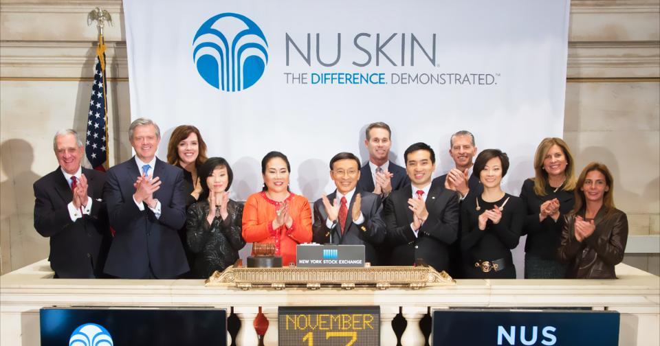 Empresas: Nu Skin Enterprises, Inc., a solo 3 días de negociar ex dividendo