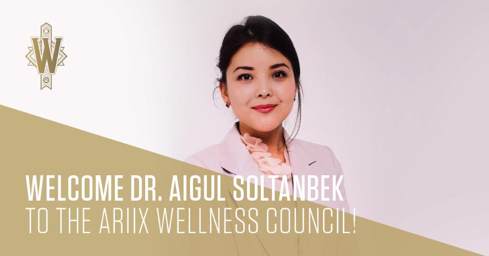 Empresas: ARIIX recibe a la Dr. Aigul Soltanbek en el Consejo de Bienestar