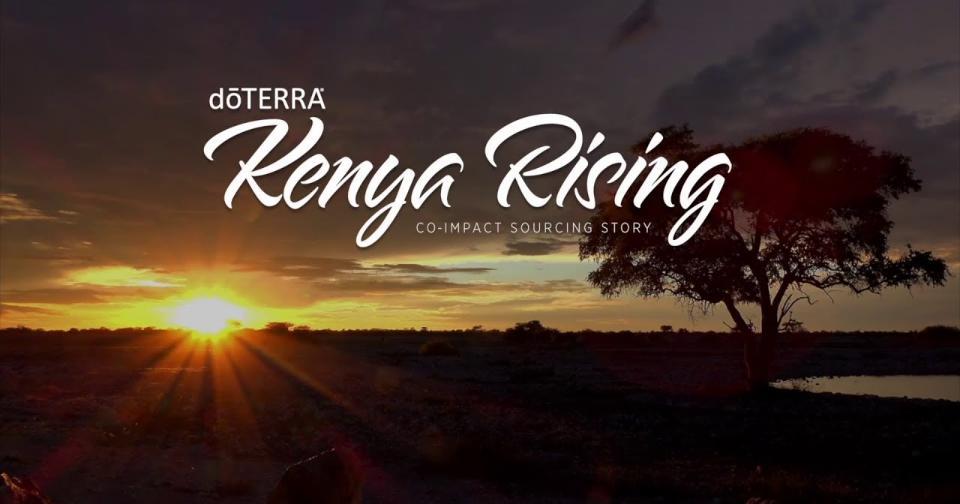 Empresas: doTERRA colabora con Kenia en la conservación de los recursos naturales