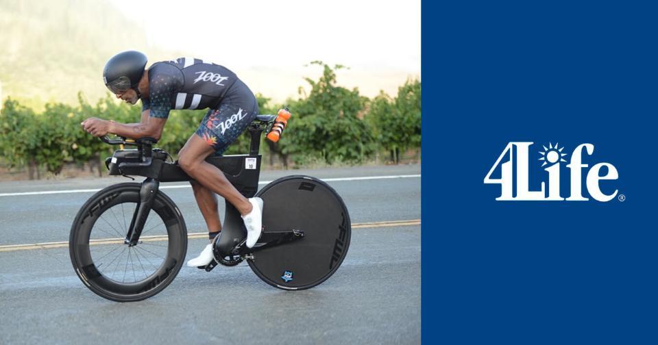 Empresas: El triatleta profesional Iván Domínguez se une a 4Life