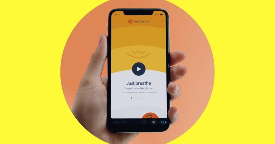 Tecnología: Headspace es la primera mini aplicación de Snapchat para meditar en grupos