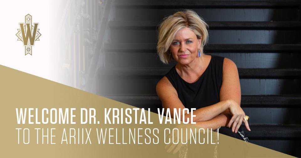 Empresas: La Dra. Kristal Vance, representante global líder de ARIIX se une al Consejo de Bienestar de la compañía