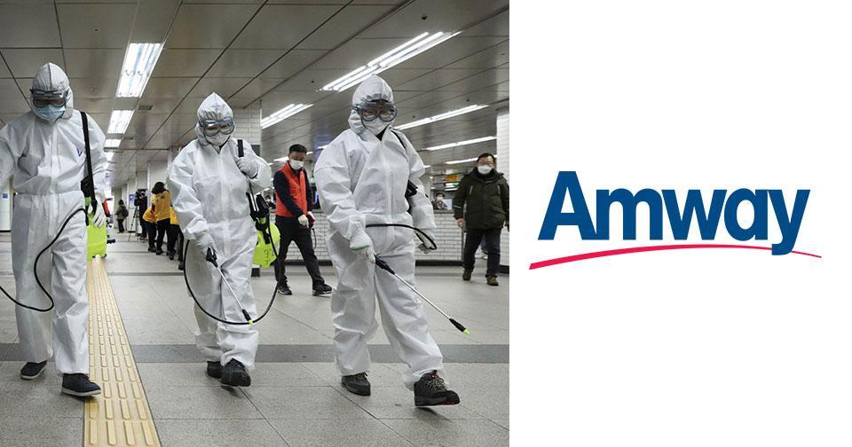 Empresas: Amway prohíbe utilizar el nombre de la compañía en temas referentes al coronavirus