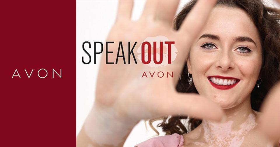 Empresas: Avon lanza la campaña #SpeakOut en favor de las mujeres