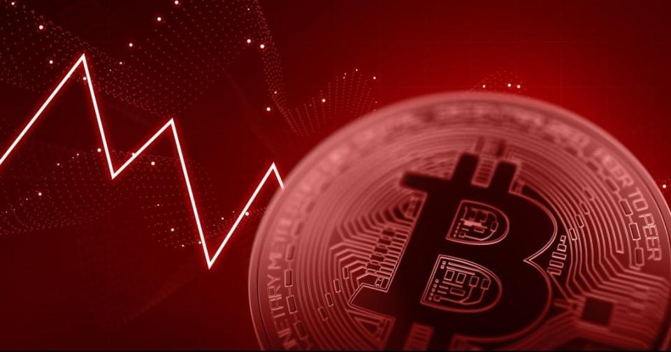 Criptomonedas: Bitcoin pierde el 20 % de su valor en minutos