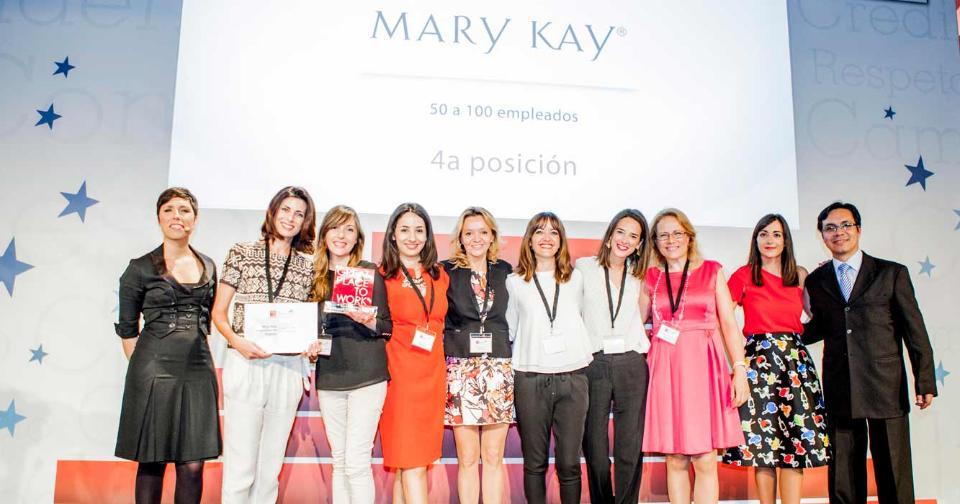 Empresas: Mary Kay Europa es galardonada por sus capacidades de liderazgo