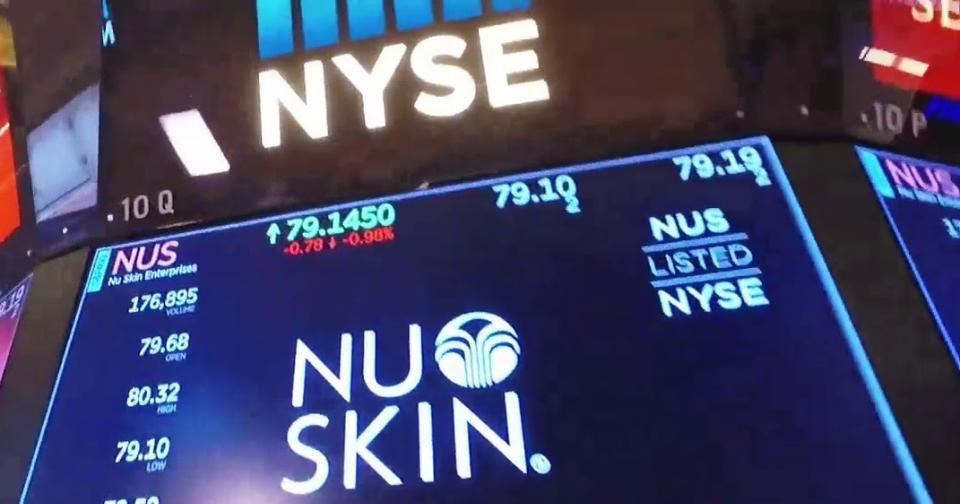 Empresas: Nu Skin Enterprises vende nuevas acciones en la Bolsa de valores