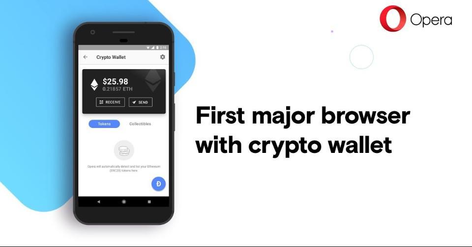 Criptomonedas: Opera ofrece la posibilidad de comprar Bitcoin a los ciudadanos de los Estados Unidos