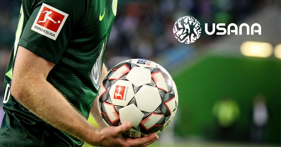 Empresas: USANA se asocia a un club de fútbol de la Bundesliga
