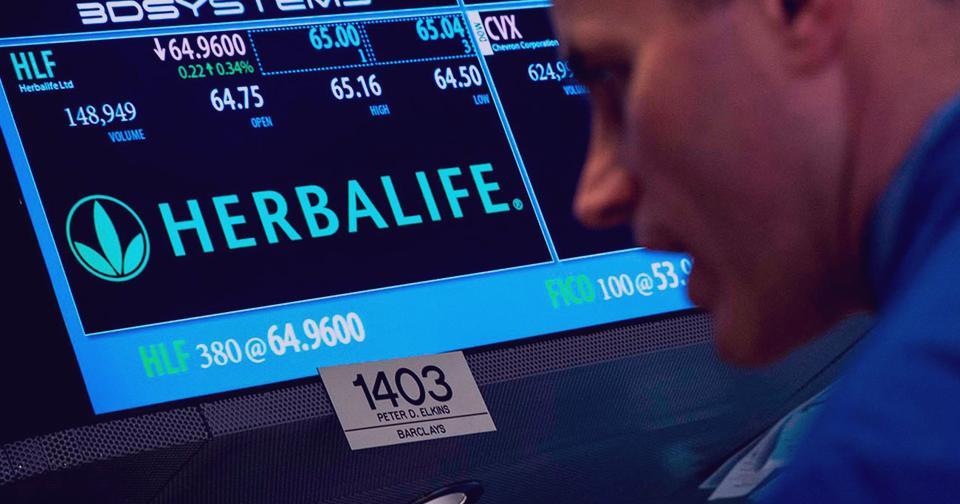 Empresas: Herbalife Nutrition reporta ventas en el 1er trimestre de 2020 por valor de 1.3 billones de dólares