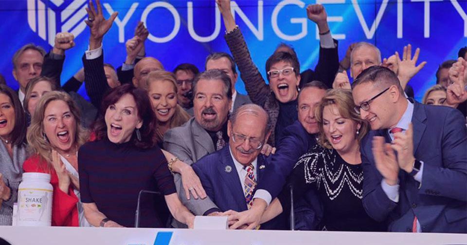 Empresas: NASDAQ notifica a Youngevity por incumplimiento