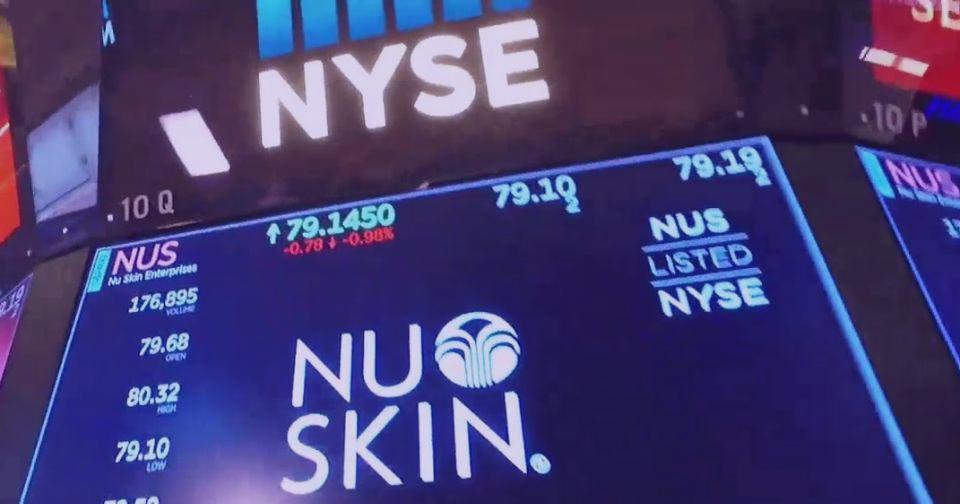 Empresas: Nu Skin sufre una baja del 17 por ciento en sus ingresos del primer trimestre del 2020
