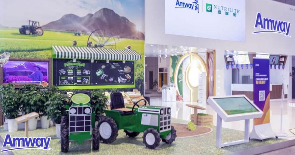 Empresas: Amway presente en la Exposición Internacional de Importaciones de China