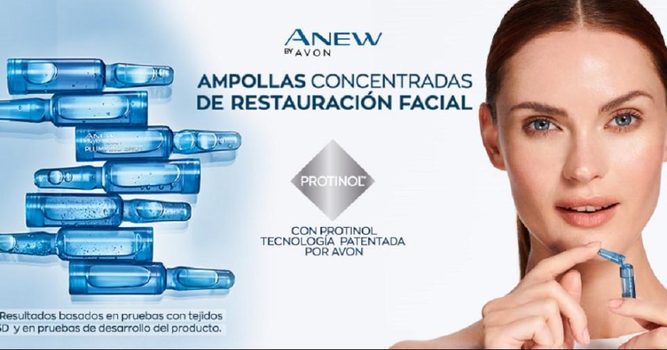 Empresas: Avon lanza su nueva tecnología de restauración facial en Perú
