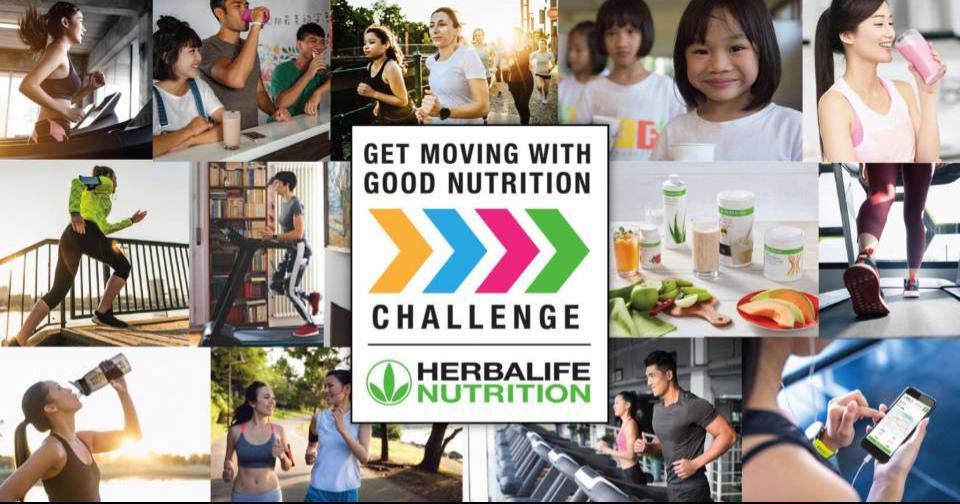 Empresas: Herbalife Nutrition lanza el Desafío Get Moving With Good Nutrition