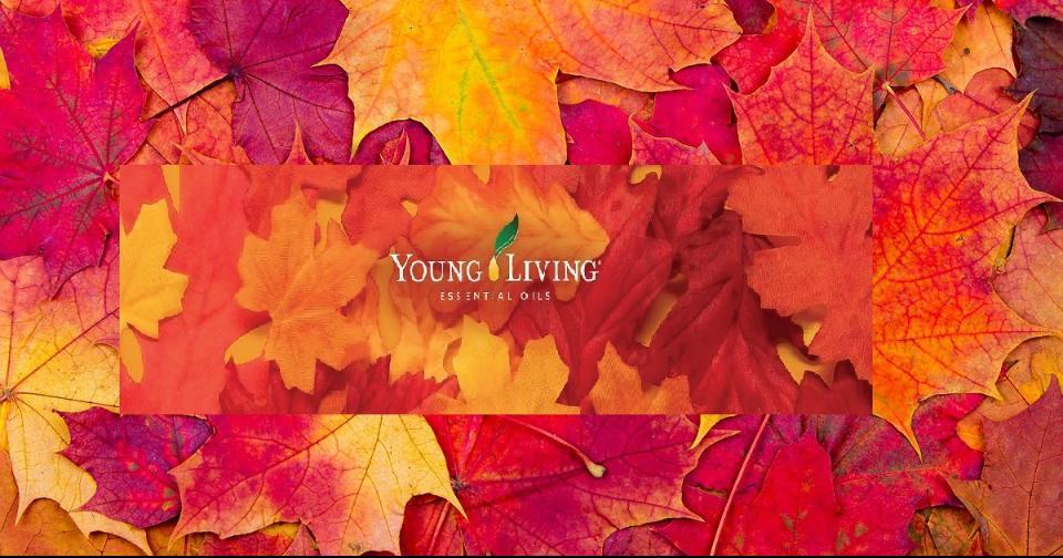 Opinión: 4 mezclas de Young Living para sentirte feliz en otoño