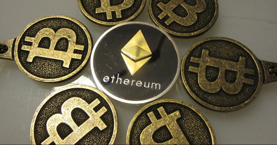 Criptomonedas: Ethereum cerca de romper el récord en volumen de transacciones de Bitcoin