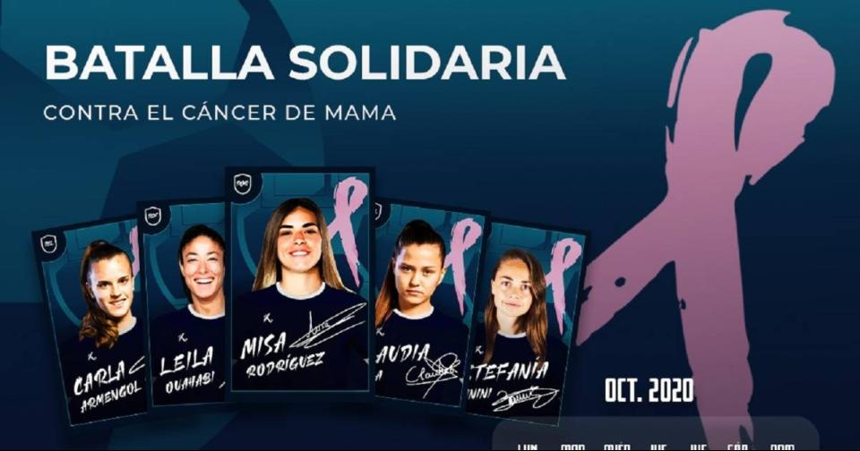 Criptomonedas: La Liga Iberdrola se suma a la lucha contra el cáncer de mama