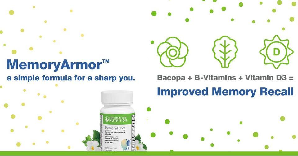 Empresas: Memory Armor: el producto de Herbalife Nutrition que te ayuda a reforzar la memoria