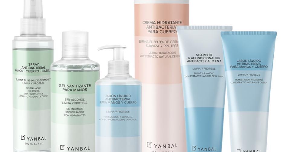 Empresas: Nueva línea antibacterial de Yanbal