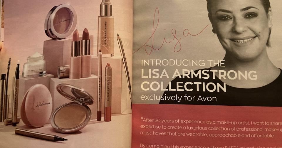 Empresas: Lisa Armstrong lanza nueva línea de la mano de Avon