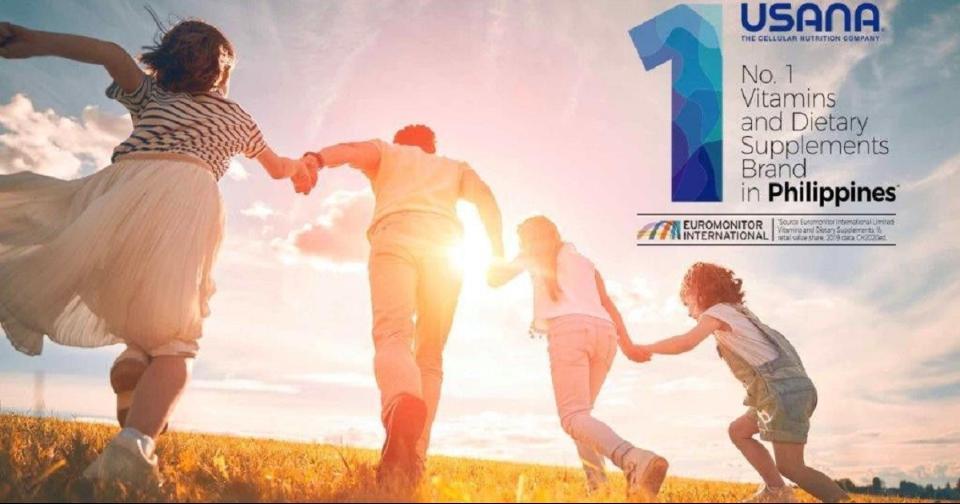 Empresas: USANA es nombrada por segunda vez como marca número 1 de vitaminas y suplementos dietéticos