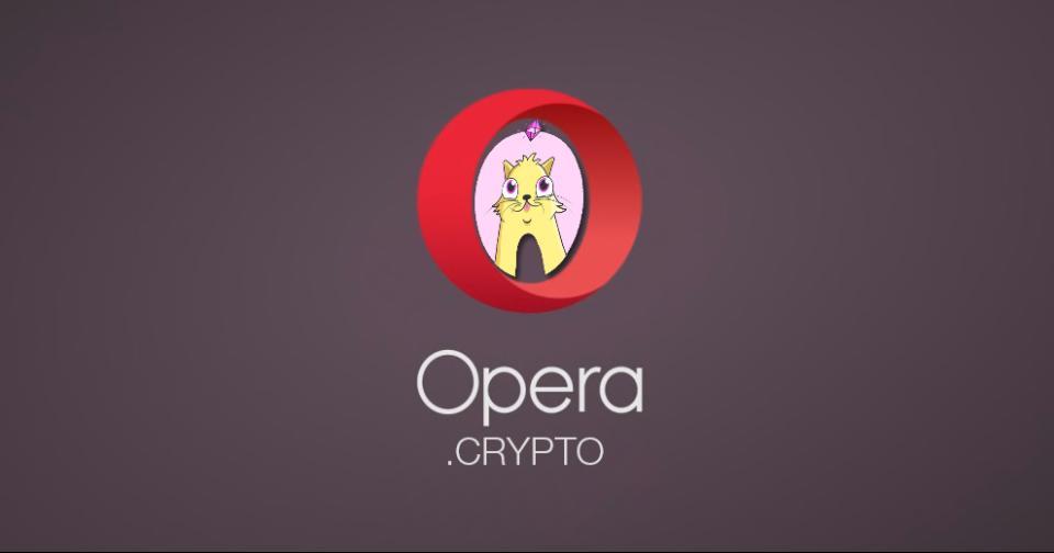 Tecnología: Opera integra los nombres de dominio .crypto a su navegador web