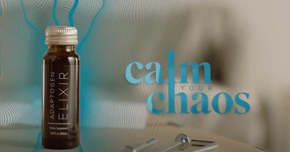 Empresas: Adaptogen Elixir, un producto de Isagenix para manejar el estrés