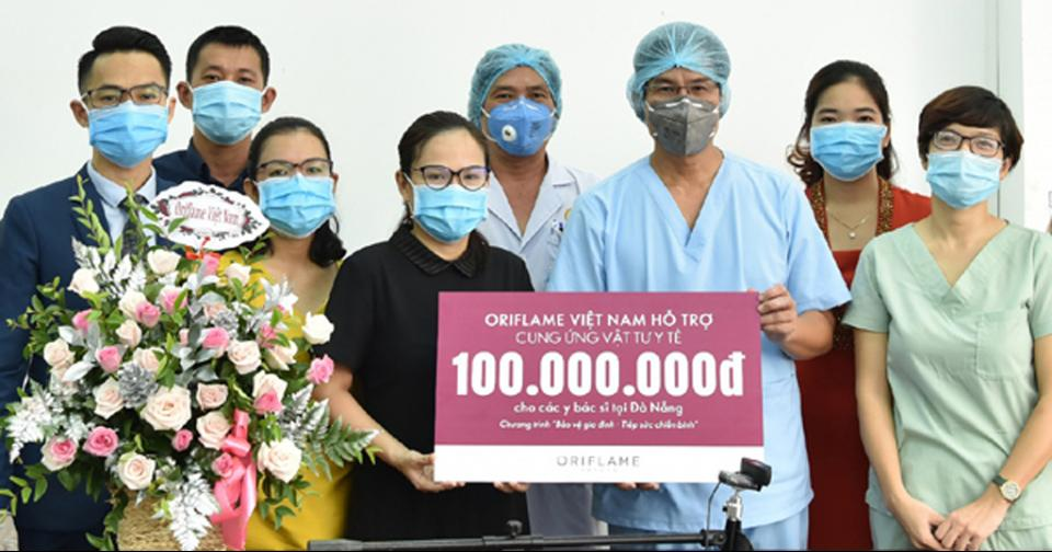 Empresas: Oriflame organiza actividades para apoyar la lucha contra Covid-19