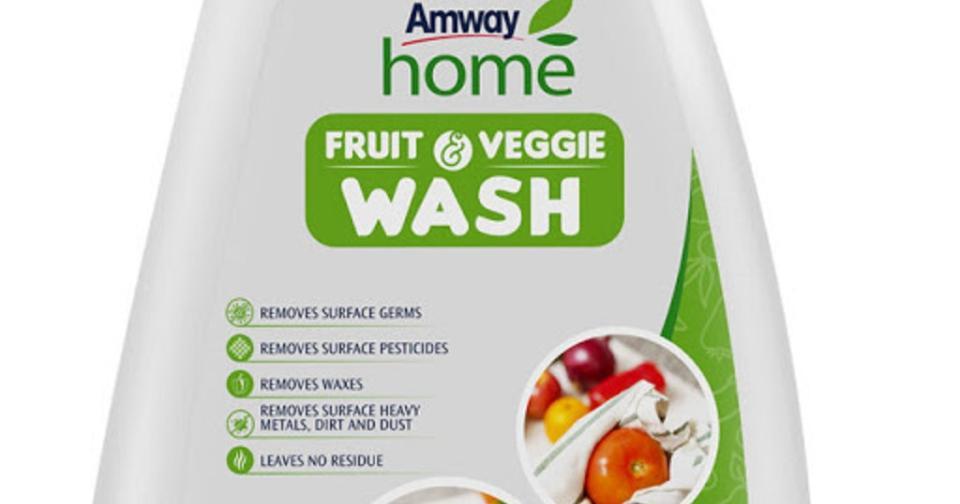 Empresas: Amway incursiona en la categoría de higiene de frutas y verduras