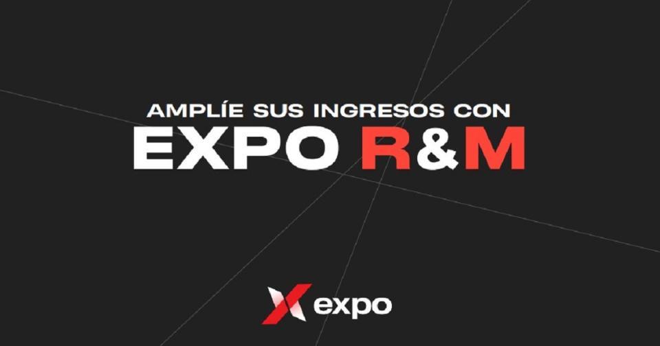 Empresas: EXPO R&M: aumenta tus ingresos y asegura tu futuro con el mínimo de inversión