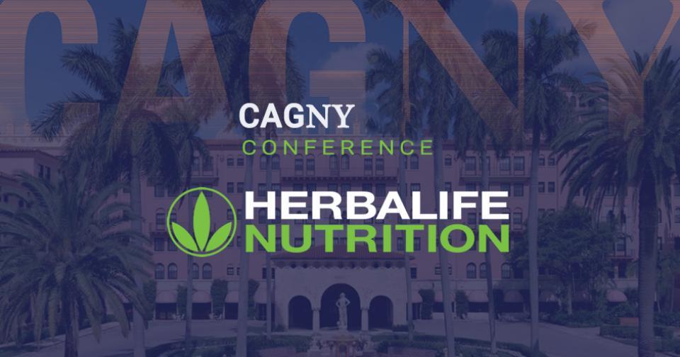 Actualidad: Herbalife Nutrition participará en la Conferencia Virtual CAGNY 2021