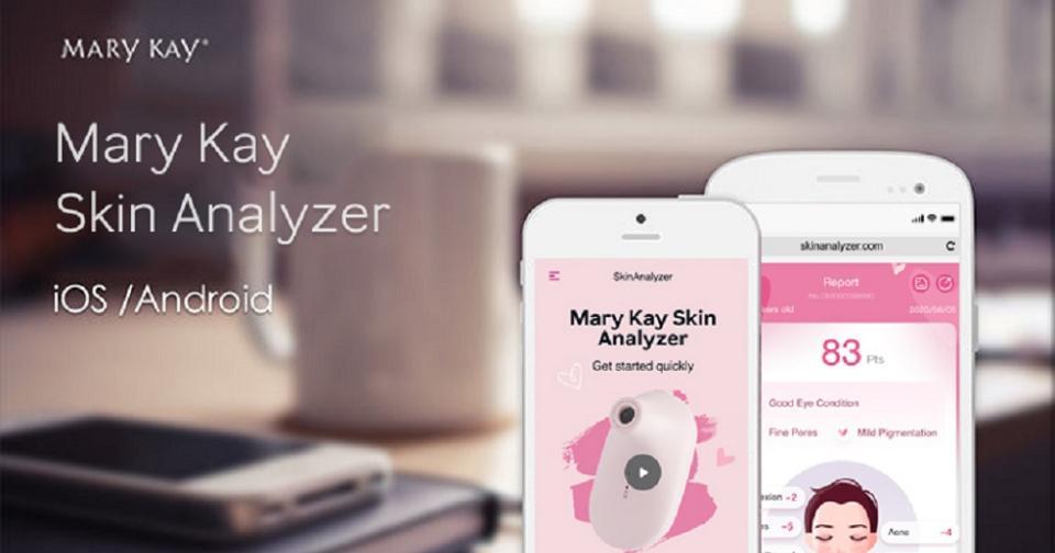 Empresas: Mary Kay lanza su propia aplicación para elegir el producto más adecuado para cada piel
