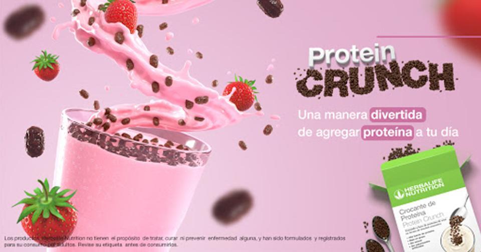 Empresas: Protein Crunch: la nueva proteína crocante de Herbalife Nutrition