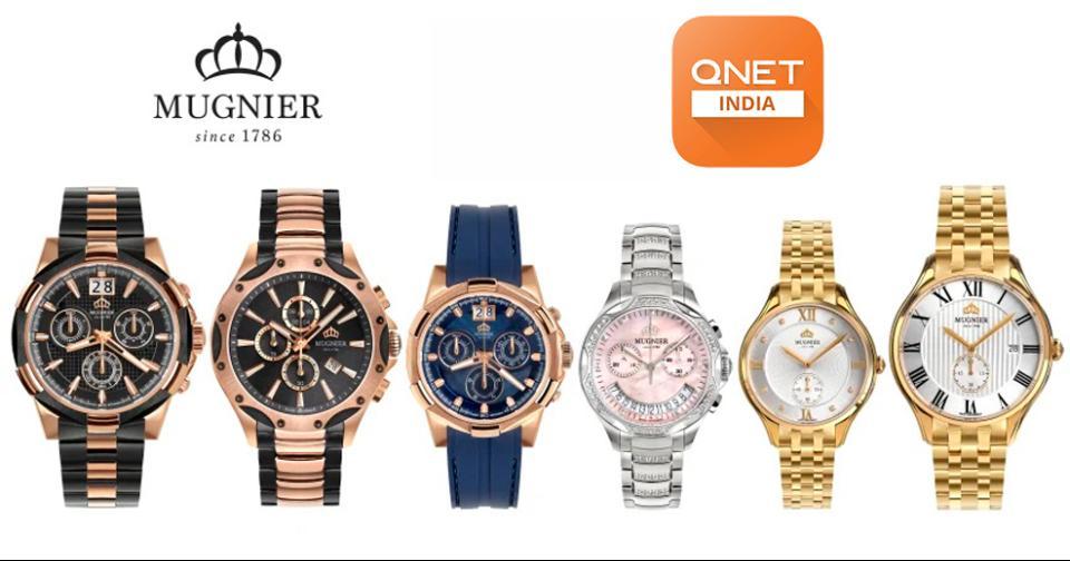 Empresas: QNET comenzará a ensamblar relojes Mugnier en Maharashtra
