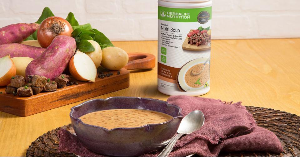 Empresas: Herbalife Nutrition lanza la Crema de Carne Nutri Soup con batatas