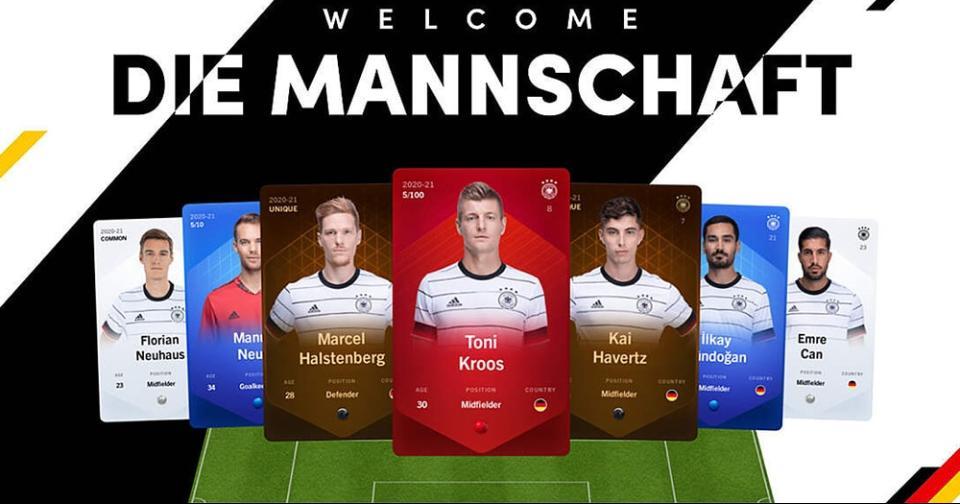 Criptomonedas: La selección alemana de fútbol presentará próximamente una colección NFT