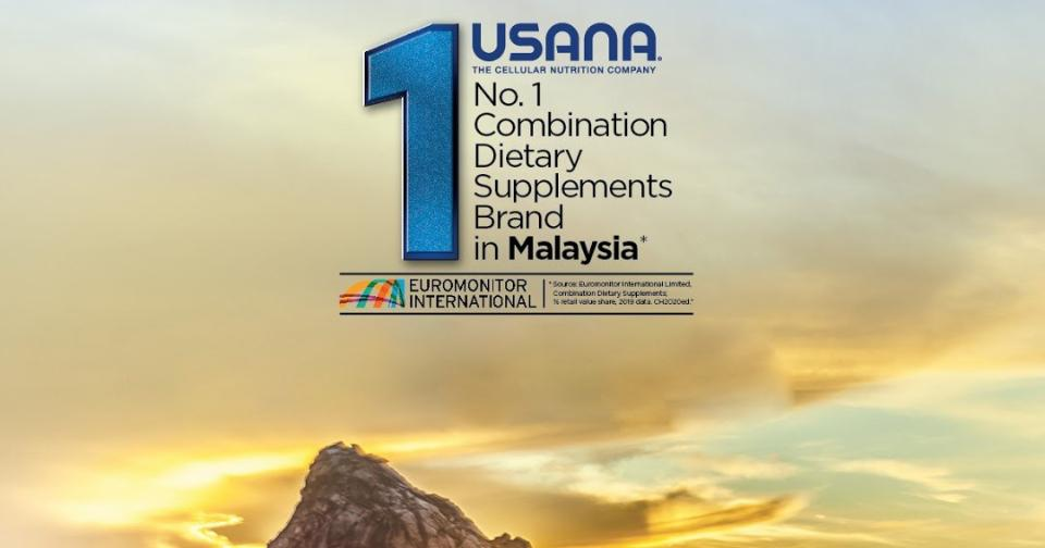 Empresas: USANA Malasia es honrada por Euromonitor International por tercer año consecutivo