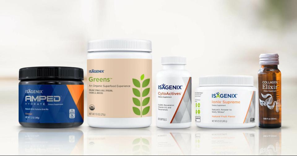 Generales: 4 productos de Isagenix para combinar con elixir de colágeno