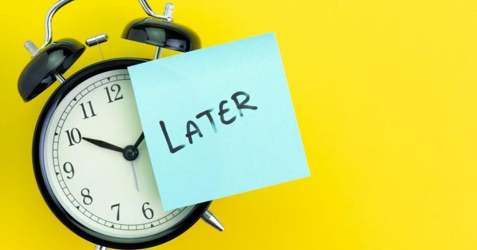 Formación: 7 maneras de cambiar tus hábitos y dejar de procrastinar