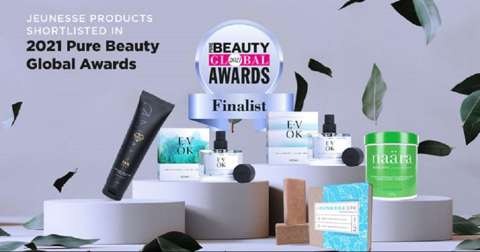 Empresas: Productos de Jeunesse son finalistas en los premios Pure Beauty de 2021