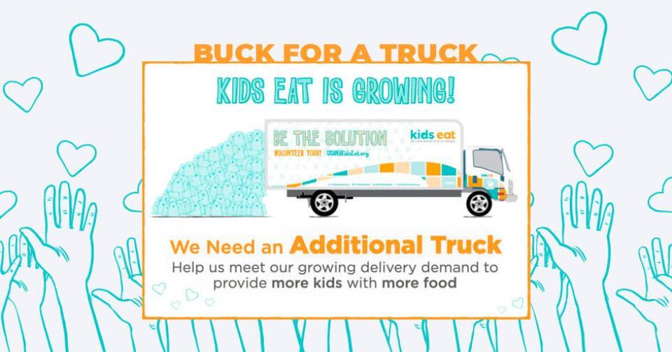 Empresas: USANA Kids Eat lanza campaña de recaudación de fondos Buck for a Truck